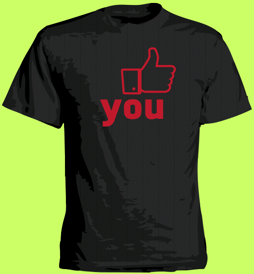 What happens on facebook stays on facebook  | kroeg-shirt creatie